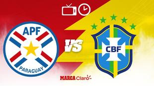 ¿Cómo, cuándo y dónde ver en vivo por TV el Paraguay vs Brasil?