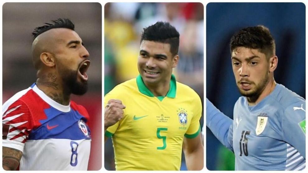 Copa América 2021: los tres mejores centrocampistas del torneo