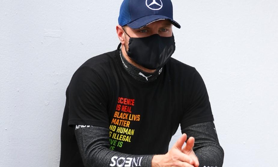 Valtteri Bottas durante el GP de Azerbaiyán   - MercedesAMG-F1