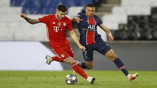 Mbappe Lucas Hernandez Bayern PSG