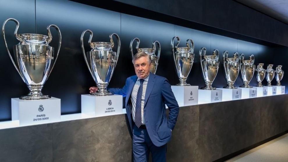 La llegada de Ancelotti hace favorito al Real Madrid en LaLiga