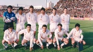 La plantilla del Albacete se negó a celebrar el treinta aniversario...