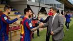 Messi mantiene en vilo al Barça