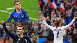 Eurocopas y Mundiales, el 'jardín' de Antoine Griezmann:...