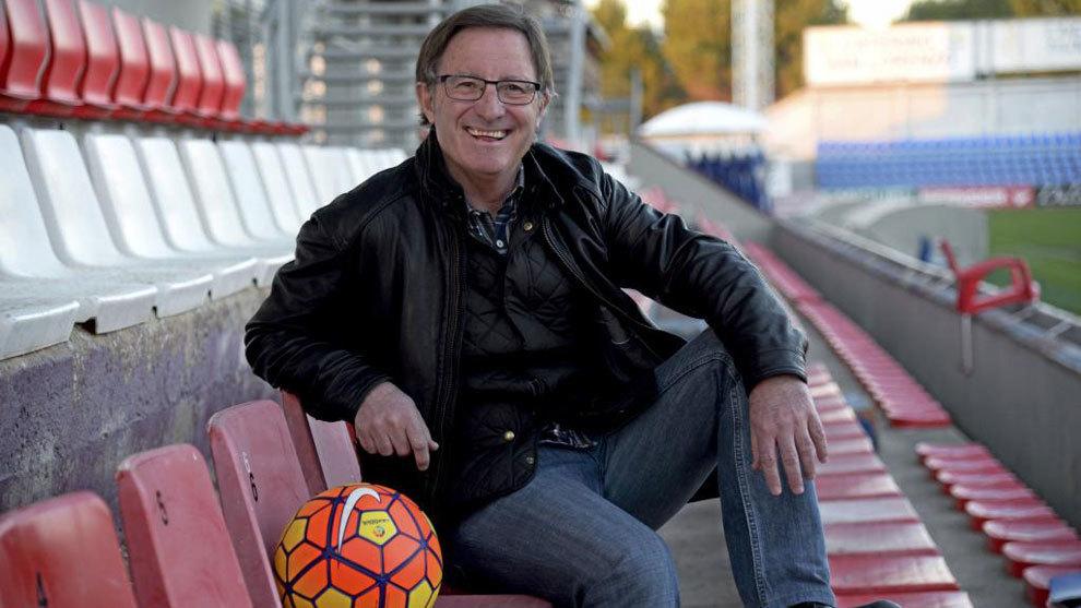 Juan Antonio Anquela (63) en una entrevista con MARCA.