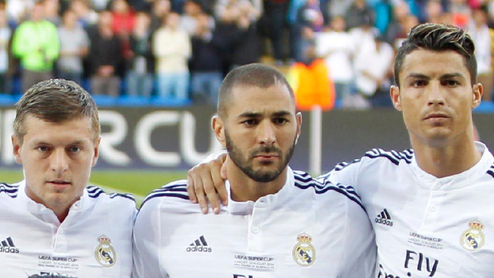 Kroos, Benzema y Cristiano Ronaldo coincidirán en el Grupo de la Muerte de la Eurocopa.