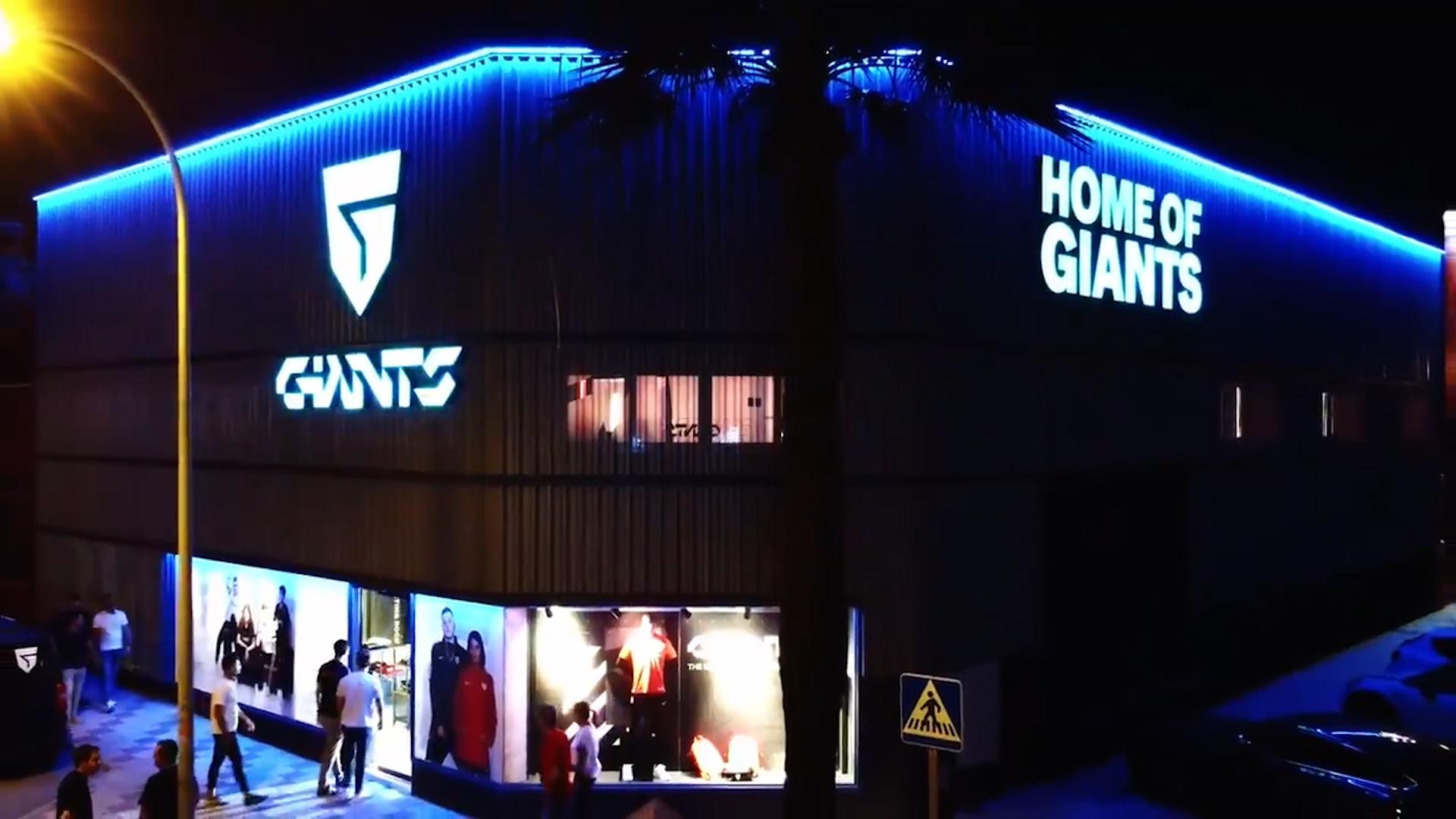 Así es 'Home of Giants', la espectacular sede de Vodafone Giants en Málaga