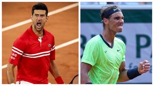 Djokovic Nadal Tsitsipas Zverev Roland Garros