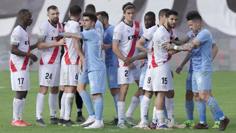 Rayo y Girona se vieron las caras en Vallecas el pasado mes de abril