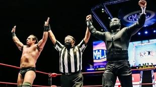 Templario y Volador jr. ganan en el CMLL.