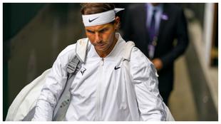 Nadal, en su última participación en Wimbledon