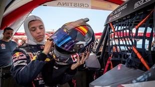 Cristina Gutierrez - Rally Kazajistán - victoria de etapa - Red Bull...