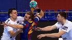 Barça-Nantes, la semifinal en directo: ventaja azulgrana
