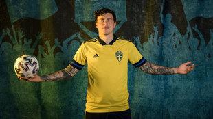 """Lindelöf, el sueco al que su padre 'cambió' por unos penaltis: """"Mi madre puso los ojos en blanco"""""""