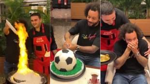 Marcelo visita a un famoso chef en Dubai y el final del vídeo arrasa en la red