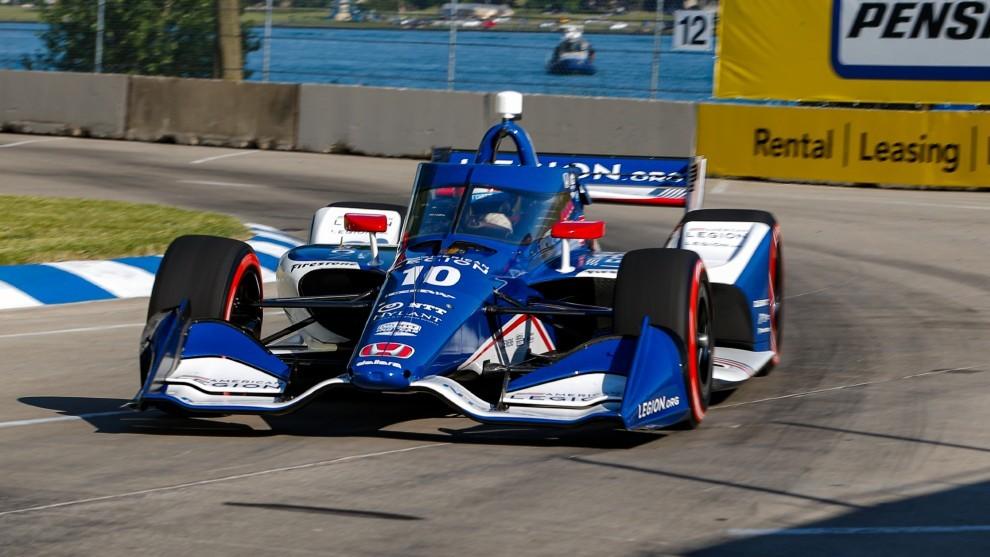 Alex Palou - Indycar - Detroit GP - clasificación - Ganassi