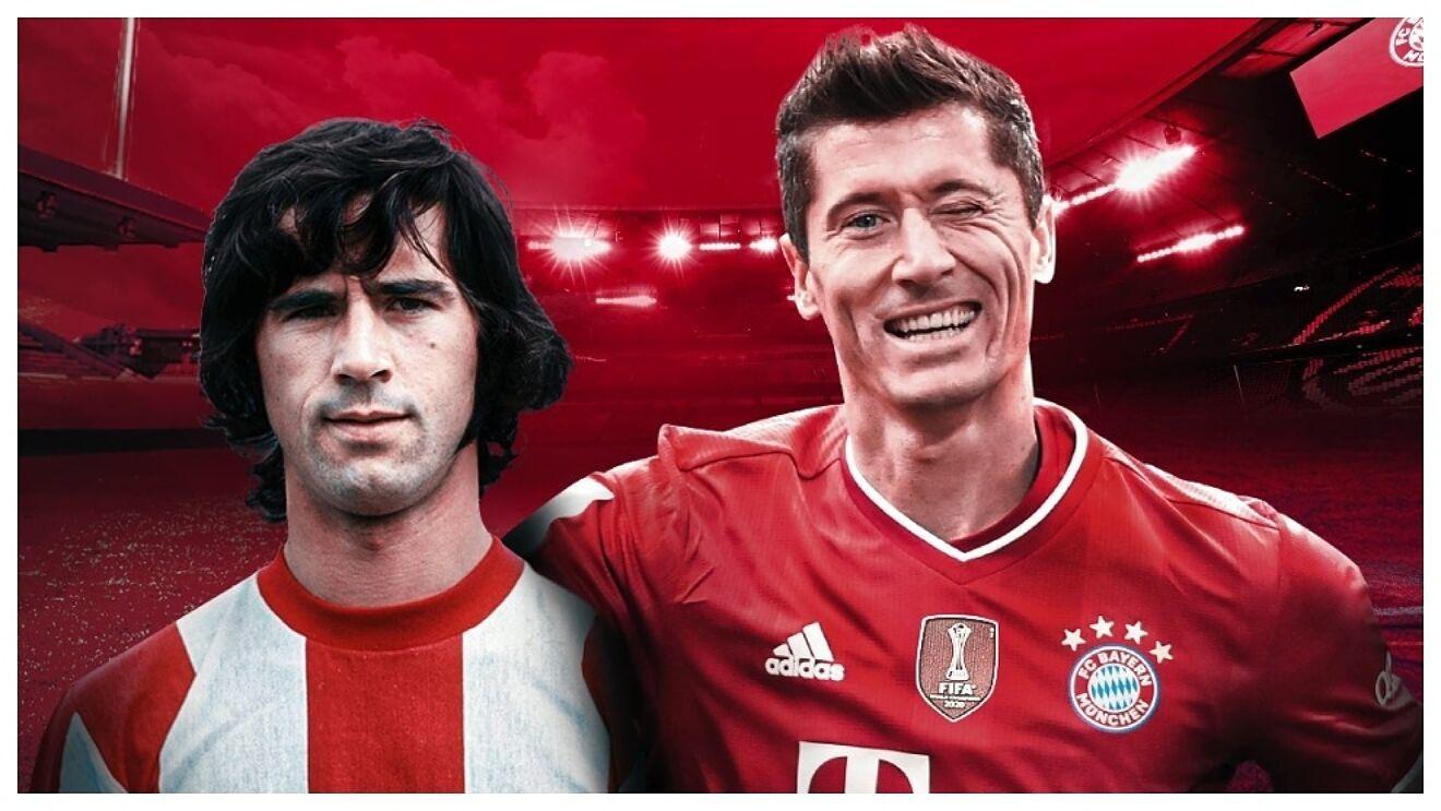 Robert Lewandowski iguala a Müller como máximo goleador de la Bundesliga.