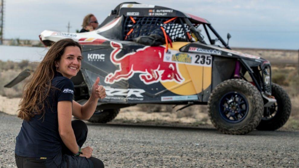 Cristina Gutierrez - Rally de Kazajistán - victoria - T3 - fractura de vértebras