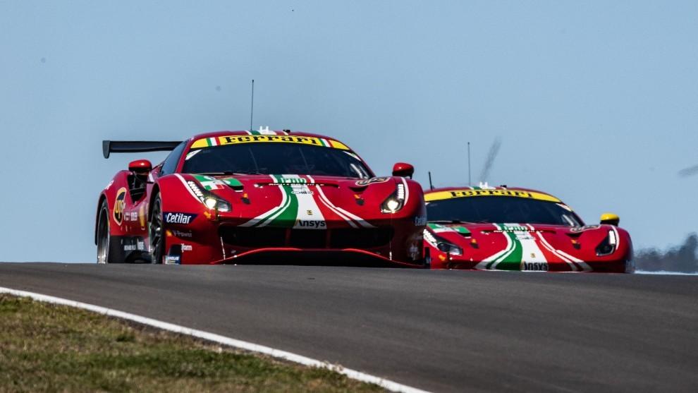 8 Horas de Portimao - Ferrari - GTE Pro - Miguel Molina - WEC - Mundial de Resistencia