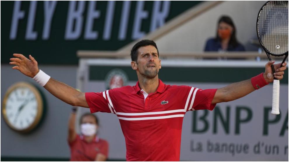 Novak Djokovic, ganador de Roland Garros.
