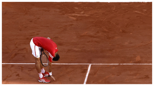 Djokovic celebra el triunfo