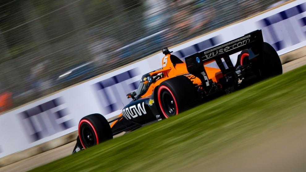 Detroit GP - Pato O'Ward - Patricio O'Ward - Indycar - McLaren - líder