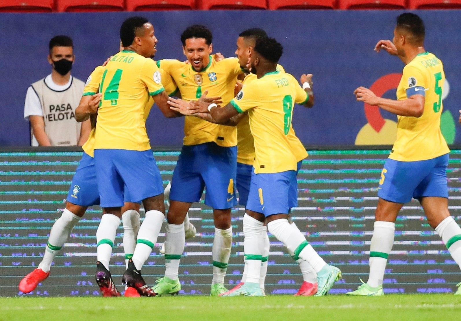 Copa América: Brasil abrió el certamen goleando a Venezuela