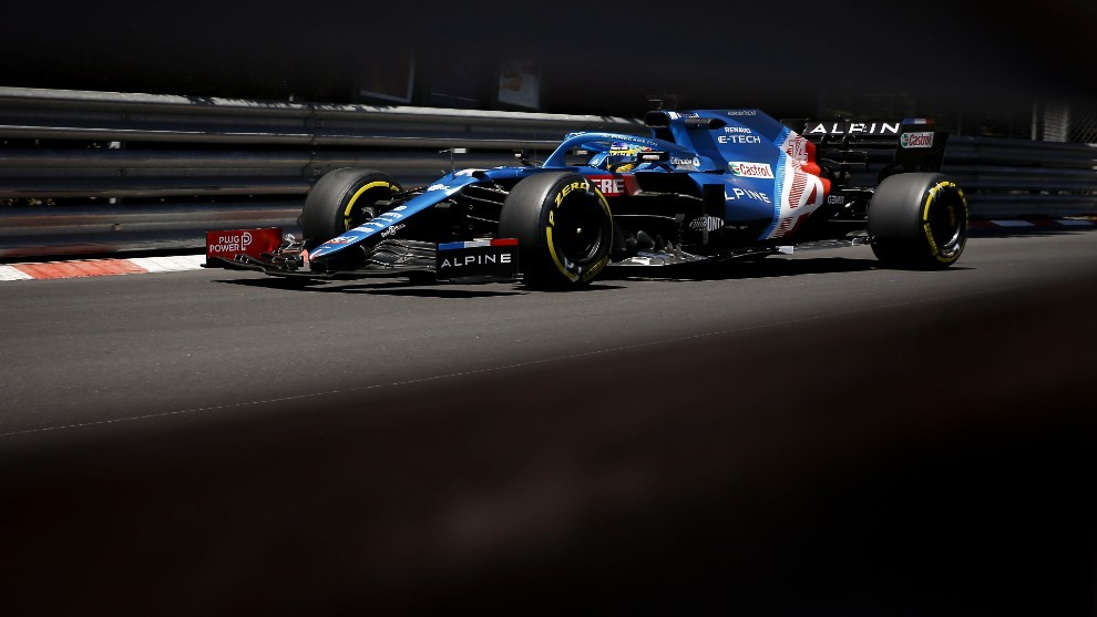 El Alpine de Fernando Alonso debe dar un paso adelante en Francia.