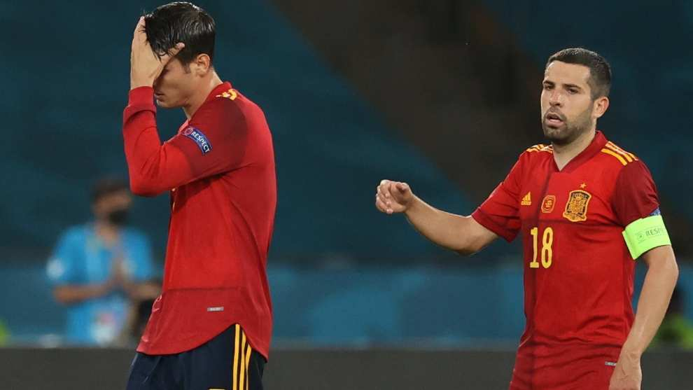 """""""Igual el próximo día Morata mete tres y calla la boca de todos"""""""