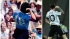 Messi clona a Maradona: golazo como el 'Pelusa' y festejo épico