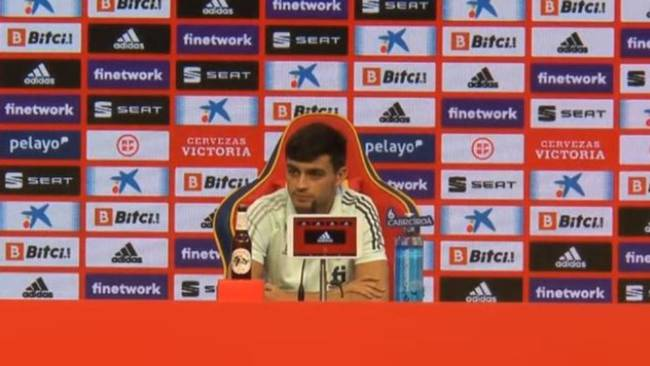 """Pedri: """"Morata se siente bien, es muy fuerte de cabeza"""""""
