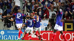 El doblete de Zidane en el descuento desató la locura de los...