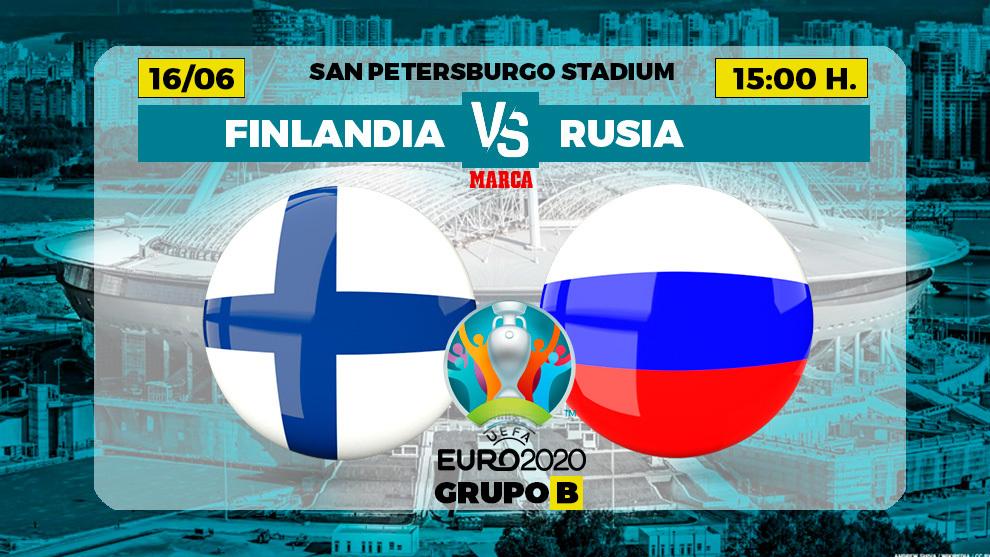 Finlandia - Rusia, en directo