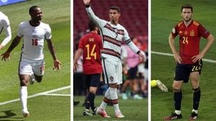 Sterling, Cristiano Ronaldo y Laporte, protagonistas del mercado de...