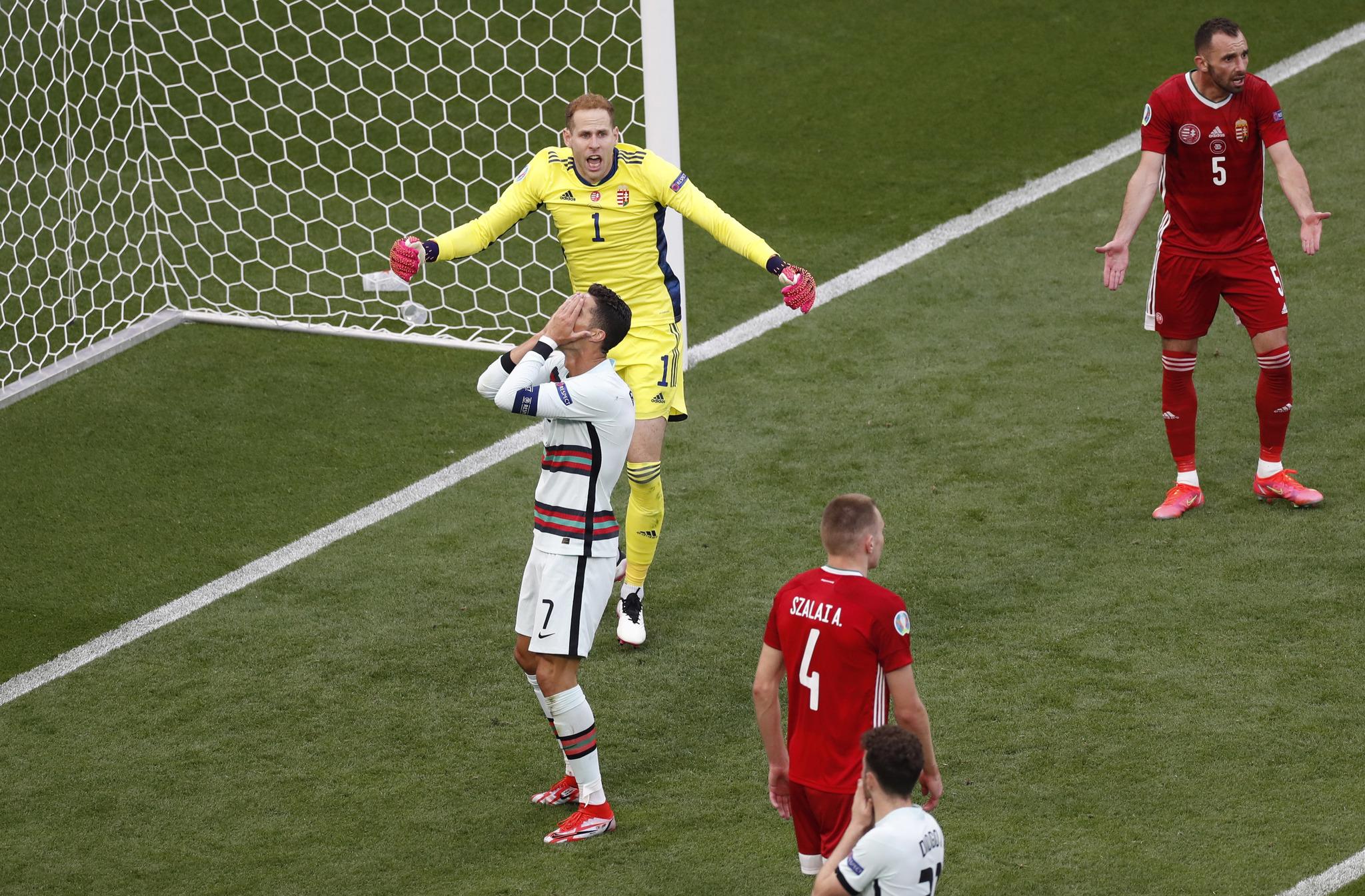 Hungría vs Portugal: resumen, goles y resultado del partido de la jornada 1 del grupo F de la Eurocopa 2020