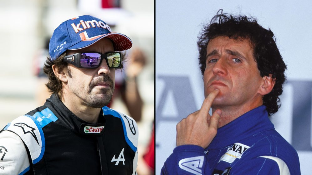 Alonso y Prost.