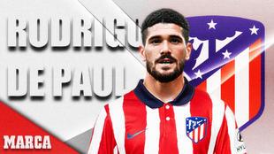 De Paul signs for Atletico Madrid