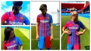 Así presenta el Barça su equipación para la 21-22: más que una camiseta...