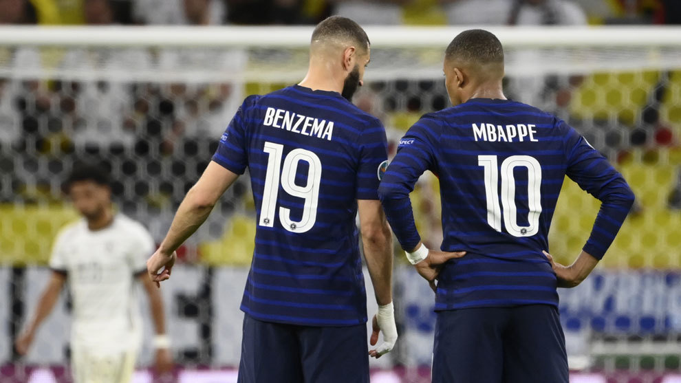 La gran conexión entre Benzema y Mbappé