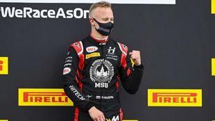 Mazepin, piloto de Haas.