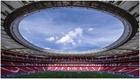 Imagen panorámica del estadio Wanda Metropolitano.