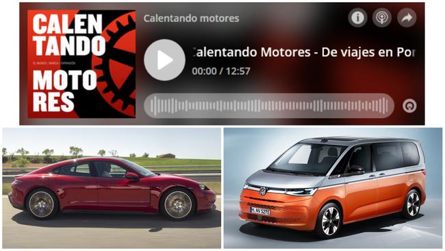 'Calentando motores': Madrid-Barcelona en un Porsche eléctrico