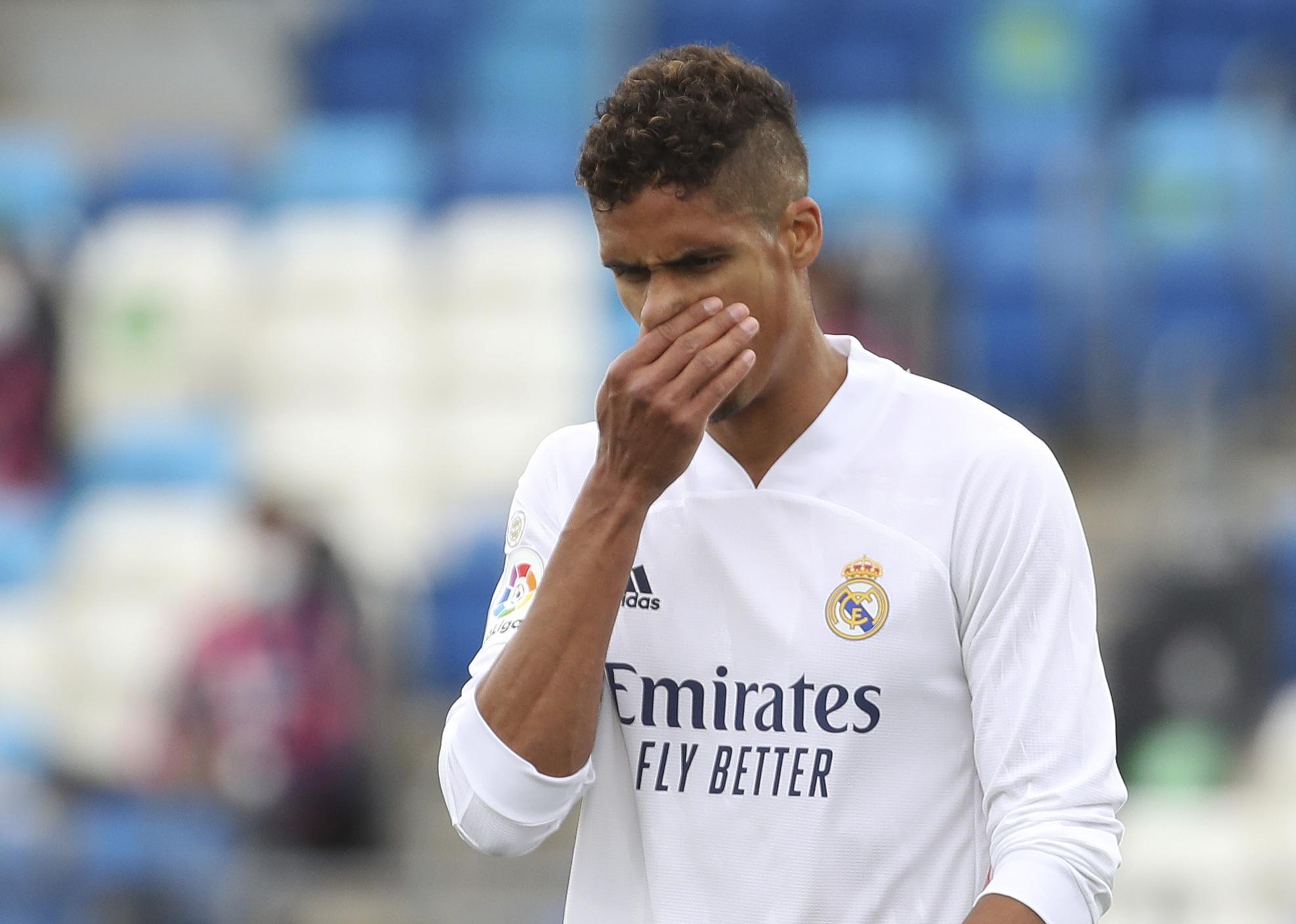 Varane, con el Real Madrid.