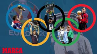 Las estrellas de la Eurocopa también brillan en el área técnica.