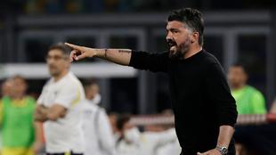 Gennaro Gattuso se va de la Fiorentina de la Serie A sin dirigir un...