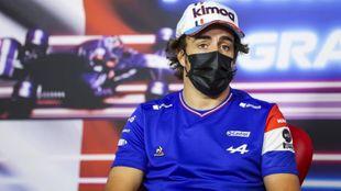 Fernando Alonso, en Paul Ricard.