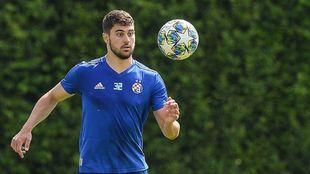Gvardiol, con el Dinamo de Zagreb.