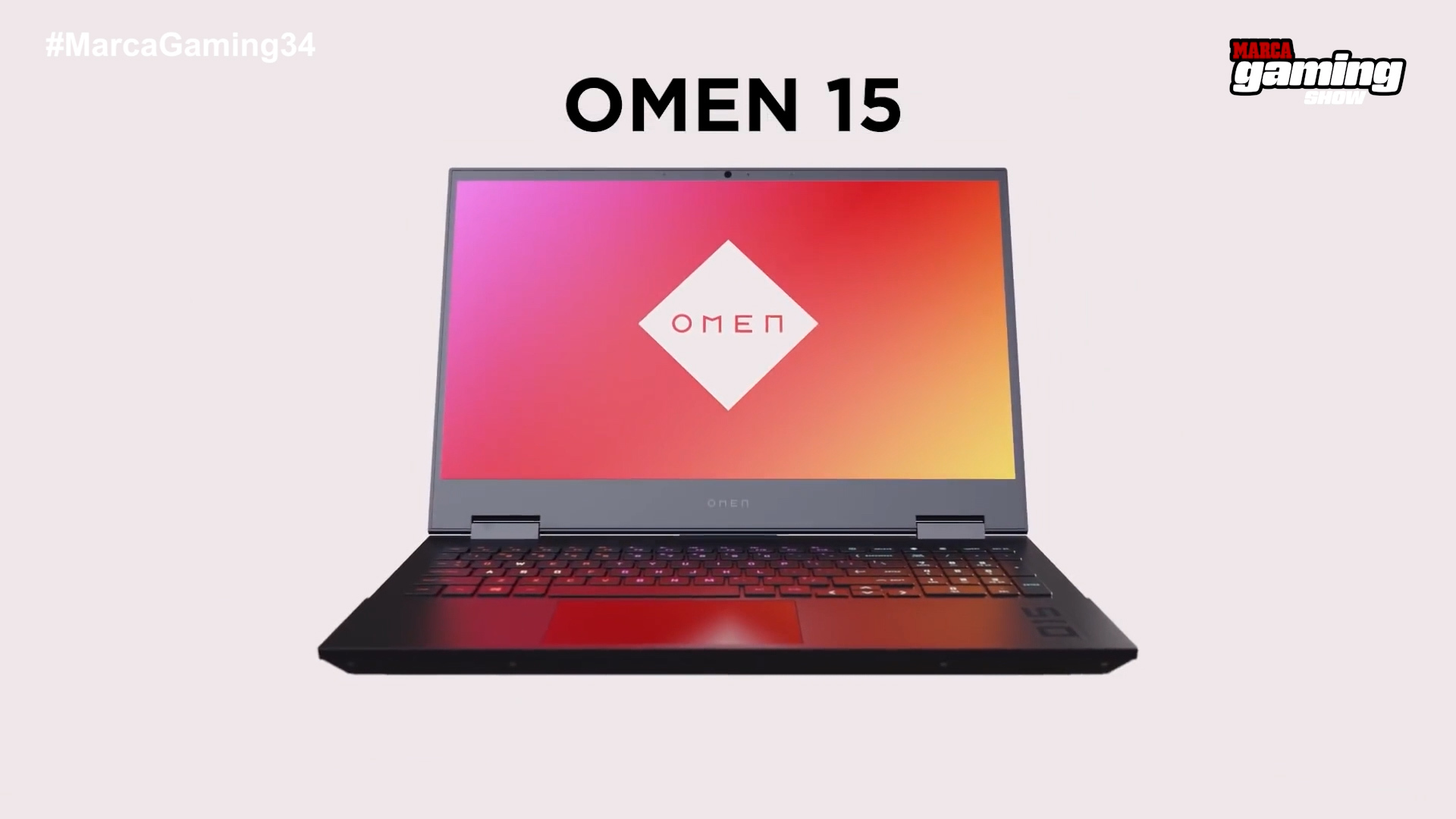 En #MARCAGaming34 sorteamos un ordenador portátil OMEN 15