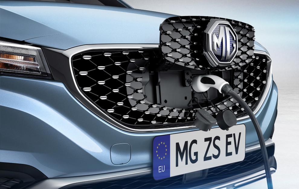 MG ZS EV - SUV electrico - Cargador - Plan Moves III