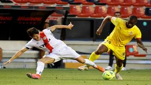 el partido de ida en el estadio de Vallecas se decidió por un 1-2.